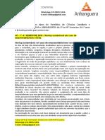 GF - 1°- 4° SEMESTRE 2020 - Startup sustentável um caso de empreendedorismo verde.