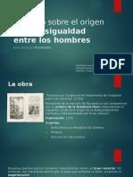 Rousseau — Discurso sobre el origen de la desigualdad entre los hombres