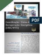 URE - Gaseificação (WEG - 144 ton dia de RSU - Novo