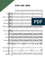 Peter Gunn Theme - Partitur.pdf