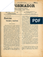 REFORMADOR 15 de julho de 1908 Doutrina Teosofia e Espiritismo parte V 1