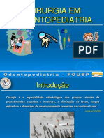 Anestesia e Exodontia de Dentes Decíduos