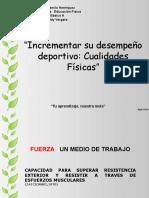 8 BÁSICO - ED FISICA - CUALIDAD FISICA FUERZA