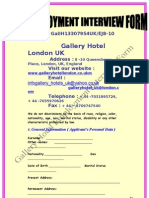 The Gallery Hotel Employment-Interview-Form[1][1]