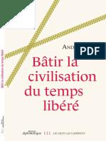 André Gorz - Bâtir la civilisation du temps libéré