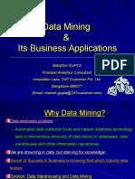 Data Mining- IMT Nagpur-Manish