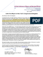 NY Conference of Mayors Letter