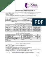 (32965847HOJA DE SEGURIDAD REMOVEDOR DE PINTURA