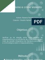 MAQUIAVELISMO E CRIME VIOLENTO