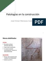 Patologías en la construcción