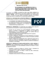 PL 045-18 Vida Laboral Familiar