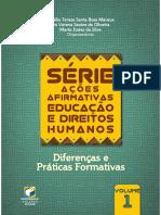 Amélia Maraux, Iris Verena Oliveira e Marta da Silva (Orgs) - Diferenças e práticas formativas