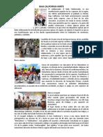 DANZAS DE ESTADOS DEL NORTE DE MEXICO