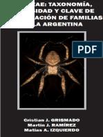 Aranea-Taxonomía, diversidad y clave de identificación de familias de la Argentina