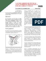 VACIAMIENTO RADICAL DE CUELLO MOCIFICADO