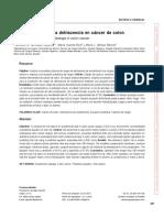 DESHICENCIA DE ANASTOMOSIS  EN CANCER DE COLON