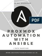 Modul One Day Workshop - Proxmox Automation With Ansible