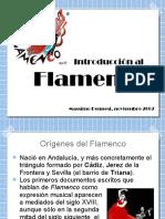 Indroducción al Flamenco