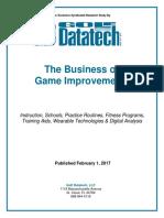 2017 Game Improvement Survey