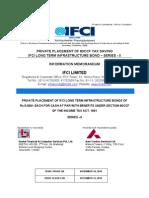 IFCIInfraBondSeriesII-IMFinal