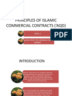 Topic 3 Principles of Islamic Commercial Contracts 'Aqd