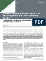 Antiviral activity of ethanol extracts of Ficus binjamina.pdf