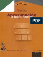 Aproximacion al texto escrito - Alvaro Diaz.pdf