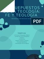 presuepuestos de la teología_ Fe y teología.pptx