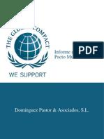 informe_progreso_2009 Grupo Domínguez Pastor & Asociados - Regalo Responsable