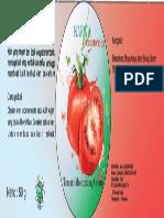 Label Kosmet Krim Tomat