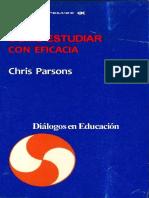 Como estudiar con eficacia - Chris Parsons
