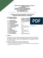 Sillabus Lesiones Centrales y Medulares IV Ciclo
