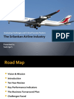 Sri Lank an Airline Industry