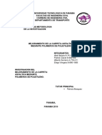 MEJORAMIENTO DE LA CARPETA ASFALTICA MEDIANTE POLIMEROS DE POLIETILENO