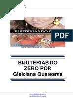 Bijuterias Do Zero - Por Gleiciana Quaresma