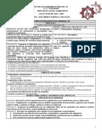PLANIFICACIÓN DIDÁCTICA SEMANAL 02
