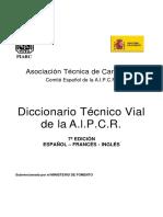 DICCIONARIO TÉCNICO VIAL ES-FR-EN