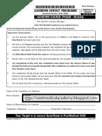 Allen Achiever Course M2A4A (22-09-2019 Test Series Question Paper.pdf