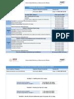Calendario de Actividades_Manejo de Materiales