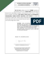 13 - RG.SSO-039 DECLARAÇÃO DE RESIDÊNCIA