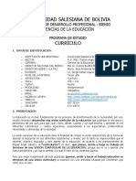 programa CURRICULO II