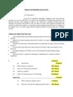 Business Analytics basics