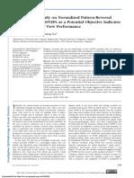 A Preliminary Study on Normalized Pattern-Reversal