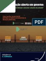 Apresentação Thales Luan Dias - Gerente do Hub MG, da Diretoria de Fomento ao Ecossistema de Inovação | Secretaria de Desenvolvimento Econômico de MG