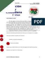 1º Etapa EDUC. ETICA Y CIUD 3° año