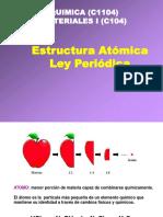 Filminas clase 2 - Estructura atómica y Ley periódica (1).pdf