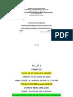 Sec 15084502 GUIA DE TALLERES DE PROYECTO DE INVERSION TRIMESTRE 10 Angel M