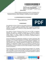 Resolución n.° 100-001101 del 31 de marzo de 2020