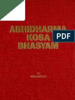 Abhidharmakosabhasyam,Vol 3,Vasubandhu,Poussin,Pruden,1991 [PDF Search Engine]