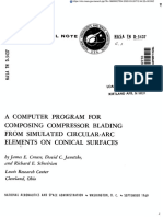 A COMPUTER PROGRAM FOR COMPOSING COMPRESSOR BLADING FROM SIMULATED CIRCULAR-ARC ELEMENTS ON CONICAL SURFACES.pdf